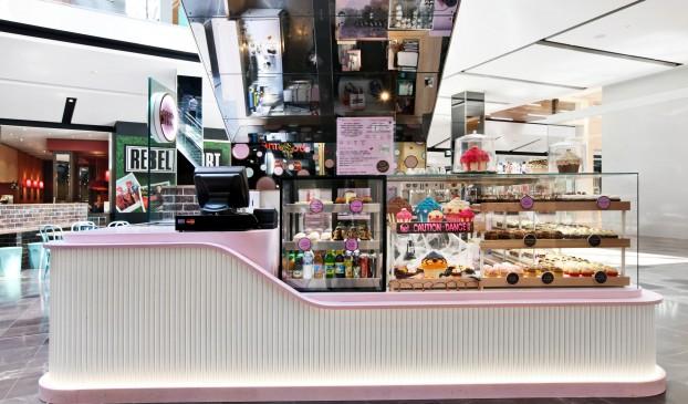 蛋糕面包店空间设计