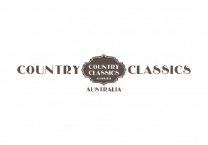 country classics branding logo for a clothing and fashion shop in the QVB