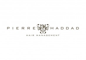 pierre haddad a logo for hair salon at the Hilton Sydney