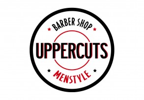 uppercuts logo for a barber shop Westfield Eastgarden