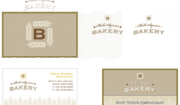 Balo Bakery Business card